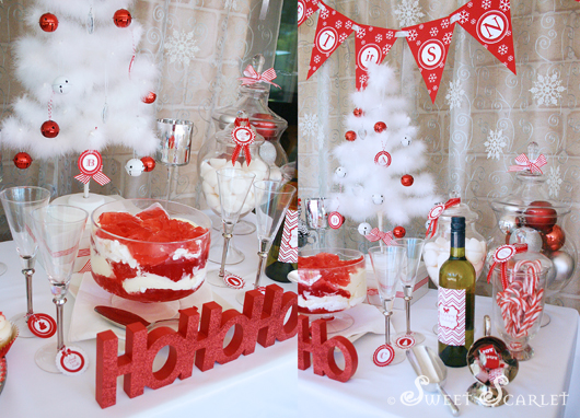 Kara S Party Ideas Let It Snow Christmas Party Kara S
