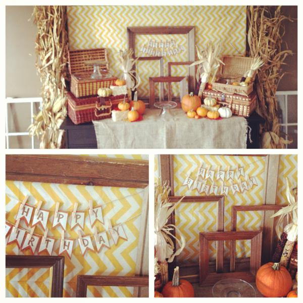 The Perfect Fall Party Theme - Celebrate Every Day With Me