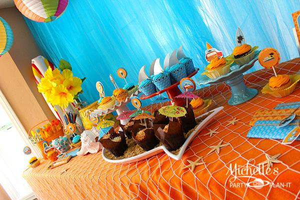 Hello Summer Surf Party via Kara's Party Ideas | KarasPartyIdeas.com #hello #summer #surf #beach #party #ideas (19)