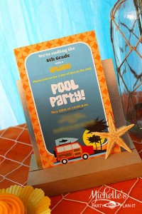Hello Summer Surf Party via Kara's Party Ideas | KarasPartyIdeas.com #hello #summer #surf #beach #party #ideas (15)