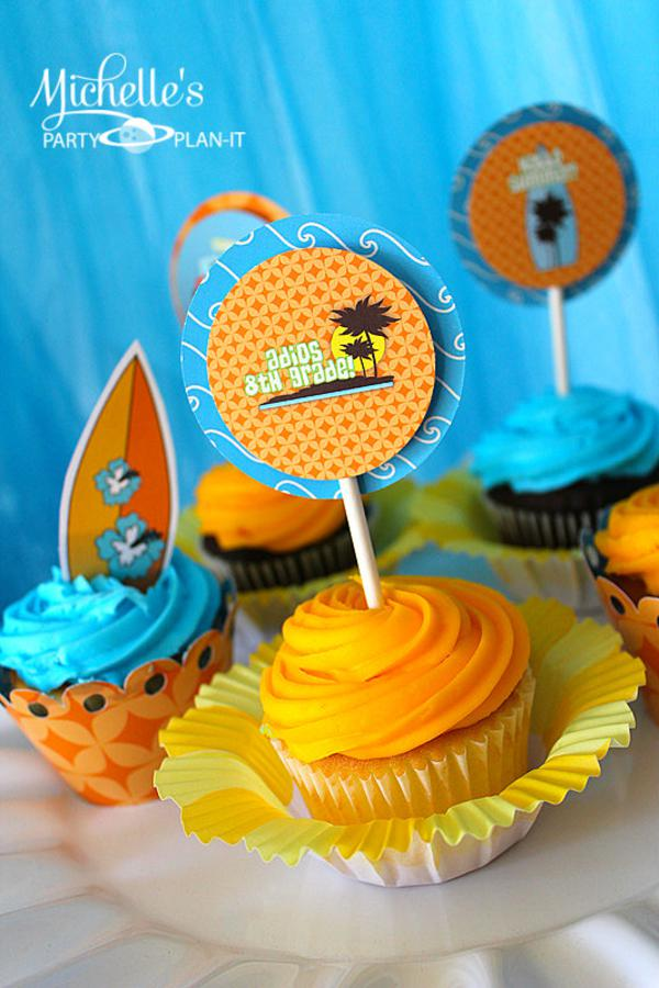 Hello Summer Surf Party via Kara's Party Ideas | KarasPartyIdeas.com #hello #summer #surf #beach #party #ideas (11)
