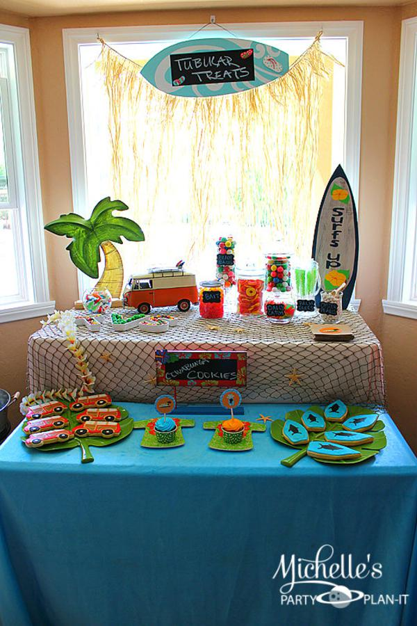 Hello Summer Surf Party via Kara's Party Ideas | KarasPartyIdeas.com #hello #summer #surf #beach #party #ideas (7)