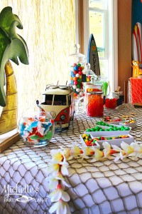 Hello Summer Surf Party via Kara's Party Ideas | KarasPartyIdeas.com #hello #summer #surf #beach #party #ideas (5)