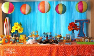 Hello Summer Surf Party via Kara's Party Ideas | KarasPartyIdeas.com #hello #summer #surf #beach #party #ideas (3)