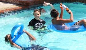 Hello Summer Surf Party via Kara's Party Ideas   KarasPartyIdeas.com #hello #summer #surf #beach #party #ideas (2)