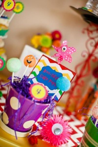 Girly Monster Bash via Kara's Party Ideas | KarasPartyIdeas.com #girl #birthday #monster #bash #party #ideas (53)