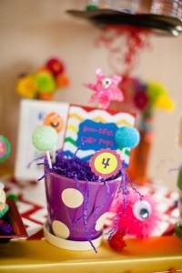 Girly Monster Bash via Kara's Party Ideas | KarasPartyIdeas.com #girl #birthday #monster #bash #party #ideas (51)