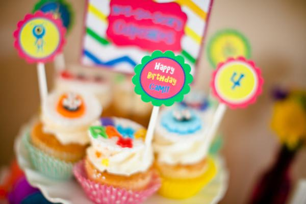 Girly Monster Bash via Kara's Party Ideas | KarasPartyIdeas.com #girl #birthday #monster #bash #party #ideas (48)