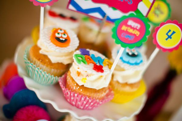 Girly Monster Bash via Kara's Party Ideas | KarasPartyIdeas.com #girl #birthday #monster #bash #party #ideas (47)