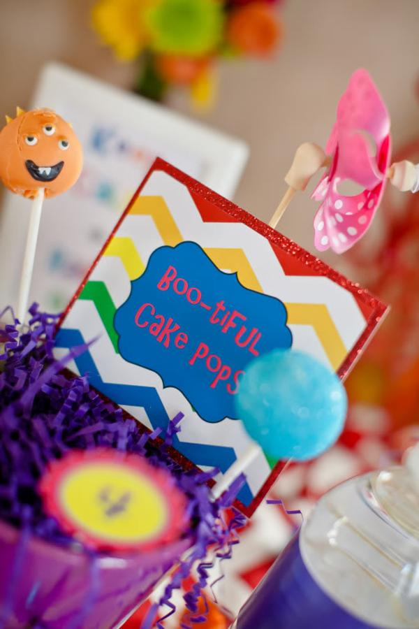 Girly Monster Bash via Kara's Party Ideas | KarasPartyIdeas.com #girl #birthday #monster #bash #party #ideas (36)