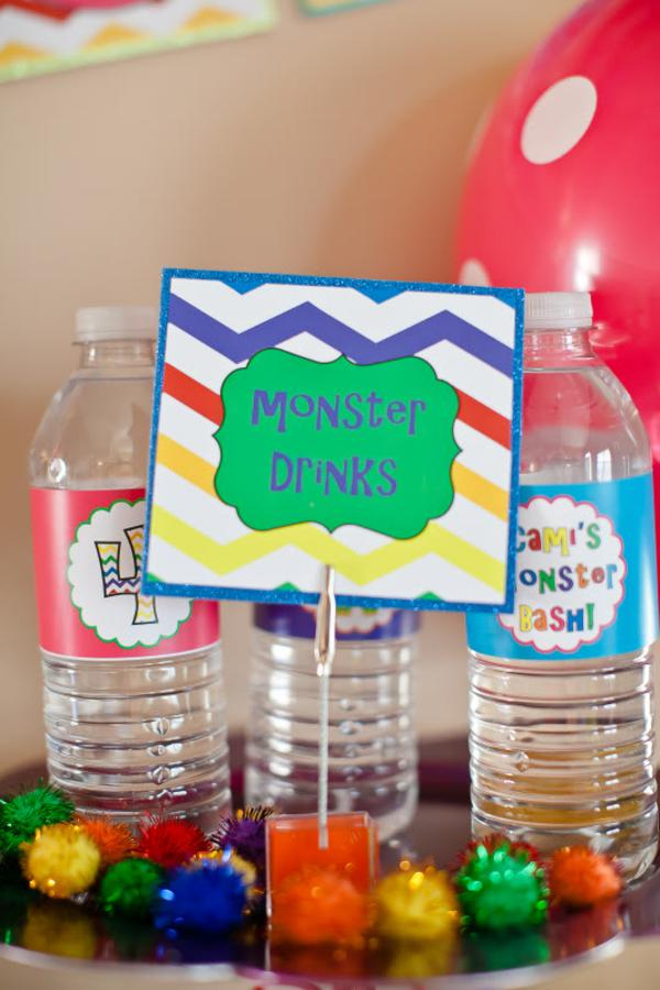 Girly Monster Bash via Kara's Party Ideas | KarasPartyIdeas.com #girl #birthday #monster #bash #party #ideas (34)