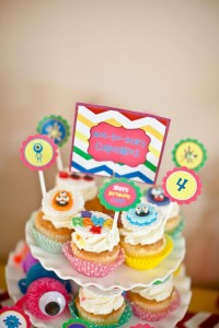 Girly Monster Bash via Kara's Party Ideas | KarasPartyIdeas.com #girl #birthday #monster #bash #party #ideas (30)