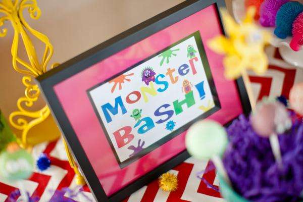 Girly Monster Bash via Kara's Party Ideas | KarasPartyIdeas.com #girl #birthday #monster #bash #party #ideas (29)
