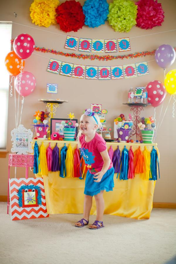 Girly Monster Bash via Kara's Party Ideas | KarasPartyIdeas.com #girl #birthday #monster #bash #party #ideas (19)