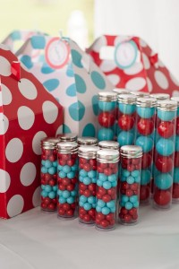 Aqua and Red Polka Dot Party via Kara's Party Ideas | KarasPartyIdeas.com #red #aqua #polka #dot #party #ideas (35)