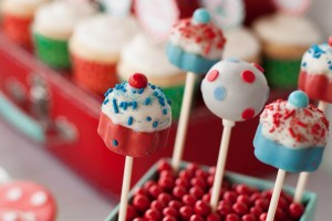 Aqua and Red Polka Dot Party via Kara's Party Ideas | KarasPartyIdeas.com #red #aqua #polka #dot #party #ideas (25)