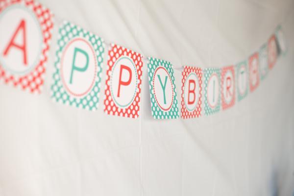 Aqua and Red Polka Dot Party via Kara's Party Ideas | KarasPartyIdeas.com #red #aqua #polka #dot #party #ideas (12)