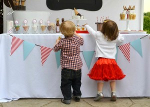 Old Fashioned Ice Cream Parlor Birthday Party via Kara's Party Ideas | Kara'sPartyIdeas.com #old #fashioned #ice #cream #parlor #birthday #party #supplies #ideas (9)