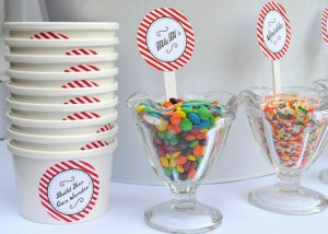 Old Fashioned Ice Cream Parlor Birthday Party via Kara's Party Ideas | Kara'sPartyIdeas.com #old #fashioned #ice #cream #parlor #birthday #party #supplies #ideas (2)