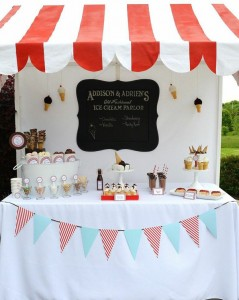 Old Fashioned Ice Cream Parlor Birthday Party via Kara's Party Ideas | Kara'sPartyIdeas.com #old #fashioned #ice #cream #parlor #birthday #party #supplies #ideas (16)