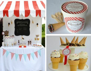 Old Fashioned Ice Cream Parlor Birthday with LOTS of Ideas Party via Kara's Party Ideas | Kara'sPartyIdeas.com #old #fashioned #ice #cream #parlor #birthday #party #supplies #ideas