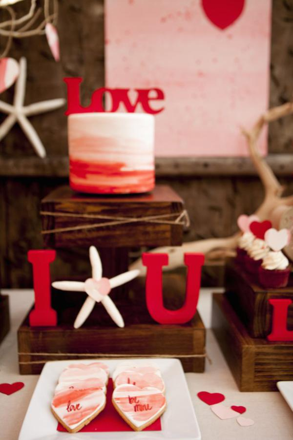 Kara S Party Ideas Love At The Beach Valentine Engagement