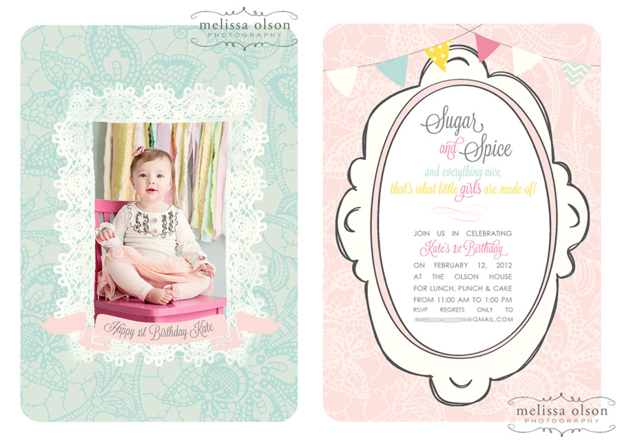 Kara\'s Party Ideas Vintage Sugar and Spice 1st Birthday Party ...