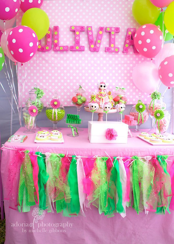 Kara 39 s party ideas lalaloopsy cake decorating birthday party planning ideas supplies idea - S birthday party decorations ...