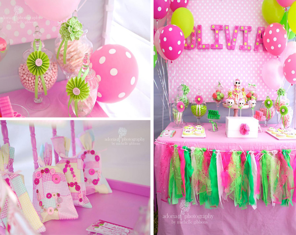 Cake Decorating Ideas For First Birthday Party : Birthday Party Decoration Party Favors Ideas