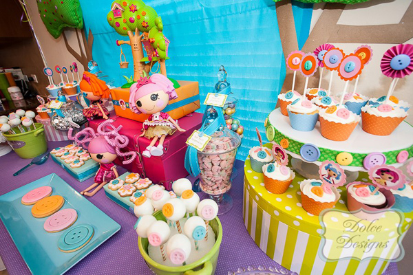 Lalaloopsy Party via Kara's Party Ideas | KarasPartyIdeas.com #lalaloopsy #party #supplies #ideas (12)