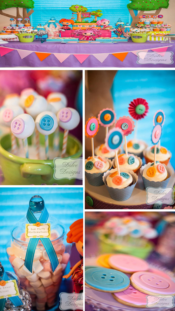 Kara's Party Ideas | KarasPartyIdeas.com #lalaloopsy #party #lots #supplies #ideas