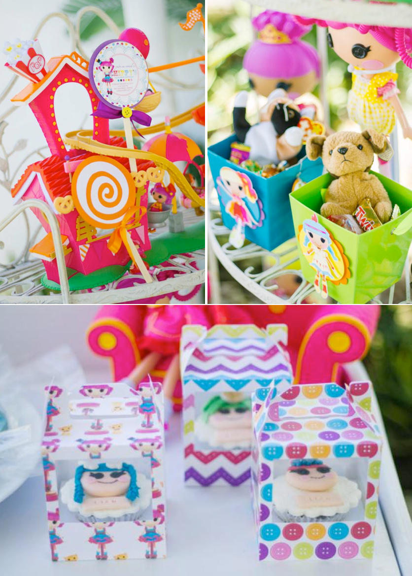 Lalaloopsy themed birthday party FULL of ideas! Via Kara's Party Ideas KarasPartyIdeas.com #lalaloopsy #birthday #party #ideas #supplies #idea #decor