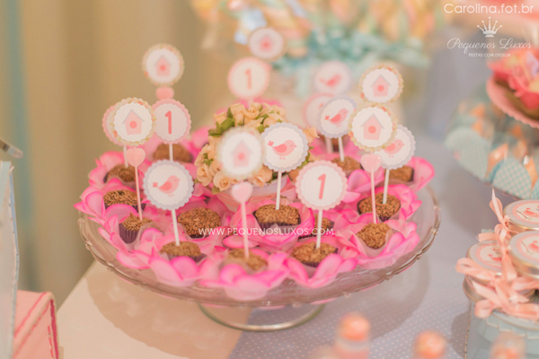 Little Birds Pink and Blue Party via Kara's Party Ideas | Kara'sPartyIdeas.com #little #birds #pink #and #blue #party #ideas #supplies (29)
