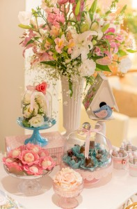 Little Birds Pink and Blue Party via Kara's Party Ideas | Kara'sPartyIdeas.com #little #birds #pink #and #blue #party #ideas #supplies (26)