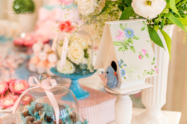 Little Birds Pink and Blue Party via Kara's Party Ideas | Kara'sPartyIdeas.com #little #birds #pink #and #blue #party #ideas #supplies (24)