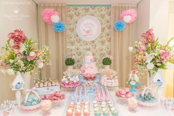 Little Birds Pink and Blue Party via Kara's Party Ideas | Kara'sPartyIdeas.com #little #birds #pink #and #blue #party #ideas #supplies (38)