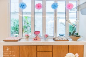 Little Birds Pink and Blue Party via Kara's Party Ideas | Kara'sPartyIdeas.com #little #birds #pink #and #blue #party #ideas #supplies (13)