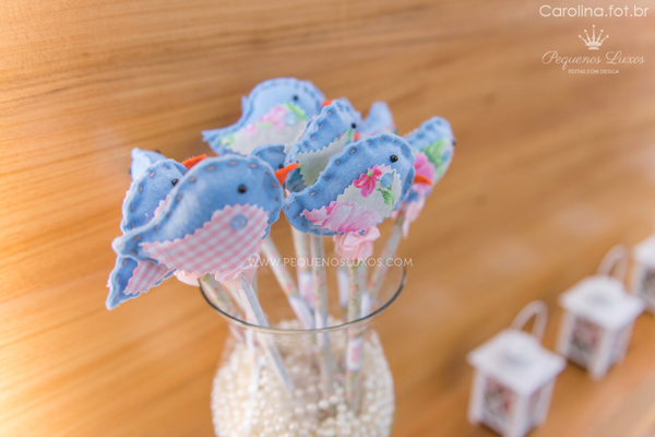 Little Birds Pink and Blue Party via Kara's Party Ideas | Kara'sPartyIdeas.com #little #birds #pink #and #blue #party #ideas #supplies (8)