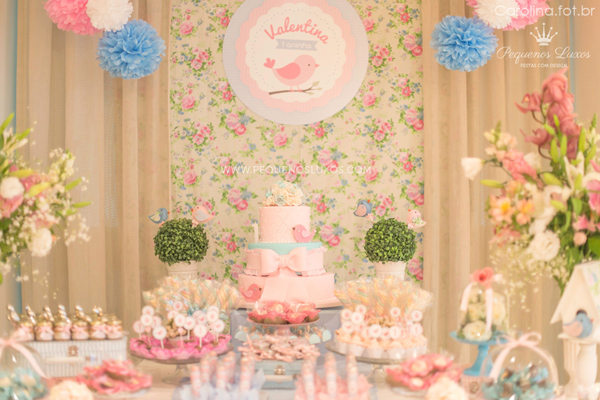 Little Birds Pink and Blue Party via Kara's Party Ideas | Kara'sPartyIdeas.com #little #birds #pink #and #blue #party #ideas #supplies (35)
