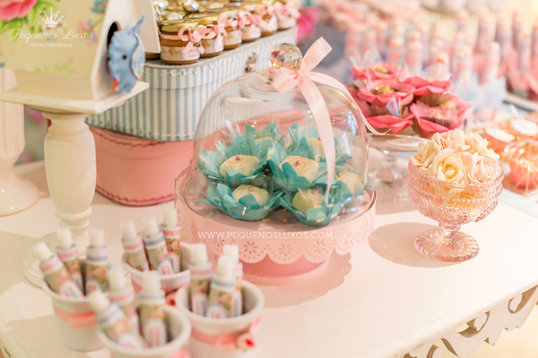 Little Birds Pink and Blue Party via Kara's Party Ideas | Kara'sPartyIdeas.com #little #birds #pink #and #blue #party #ideas #supplies (31)