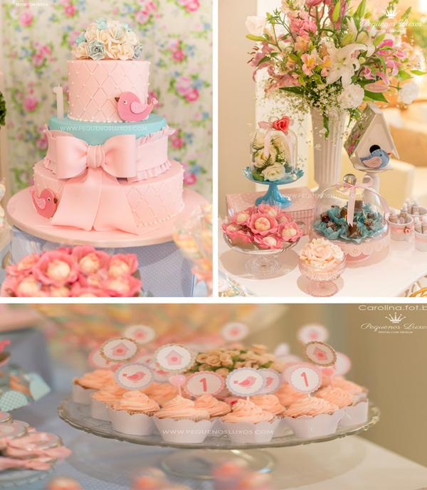 Kara's Party Ideas Little Bird Themed Birthday Party |Little Bird Party Supplies
