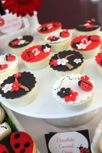 Lovebug 2nd Birthday Party via Kara's Party Ideas | Kara'sPartyIdeas.com #lovebug #ladybug #2nd #birthday #party #ideas #supplies #decorations (21)