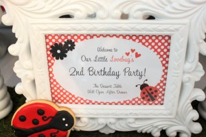 Lovebug 2nd Birthday Party via Kara's Party Ideas | Kara'sPartyIdeas.com #lovebug #ladybug #2nd #birthday #party #ideas #supplies #decorations (12)