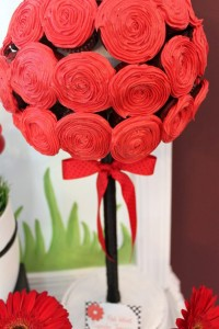 Lovebug 2nd Birthday Party via Kara's Party Ideas | Kara'sPartyIdeas.com #lovebug #ladybug #2nd #birthday #party #ideas #supplies #decorations (11)