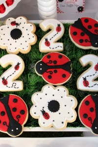 Lovebug 2nd Birthday Party via Kara's Party Ideas | Kara'sPartyIdeas.com #lovebug #ladybug #2nd #birthday #party #ideas #supplies #decorations (9)