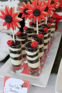 Lovebug 2nd Birthday Party via Kara's Party Ideas | Kara'sPartyIdeas.com #lovebug #ladybug #2nd #birthday #party #ideas #supplies #decorations (8)