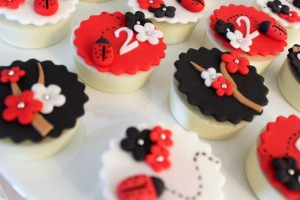 Lovebug 2nd Birthday Party via Kara's Party Ideas | Kara'sPartyIdeas.com #lovebug #ladybug #2nd #birthday #party #ideas #supplies #decorations (4)