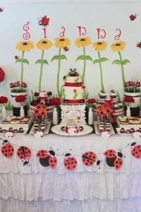 Lovebug 2nd Birthday Party via Kara's Party Ideas | Kara'sPartyIdeas.com #lovebug #ladybug #2nd #birthday #party #ideas #supplies #decorations (2)