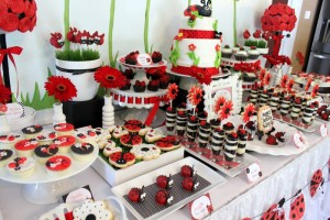 Lovebug 2nd Birthday Party via Kara's Party Ideas | Kara'sPartyIdeas.com #lovebug #ladybug #2nd #birthday #party #ideas #supplies #decorations (18)
