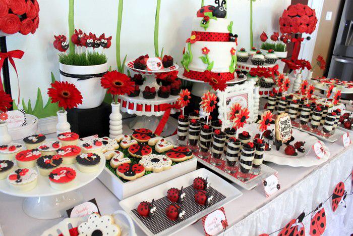 Kara 39 s party ideas lovebug 2nd birthday party via kara 39 s for 2nd birthday party decoration